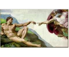 michelangelo creation adam